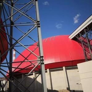 Spherical steel structure grid frame