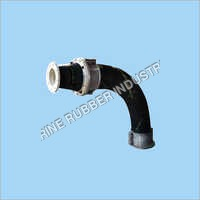 Rubber Reducer With Slurry Bend Hose