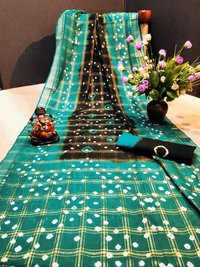 Cotton Bandhani Sarees