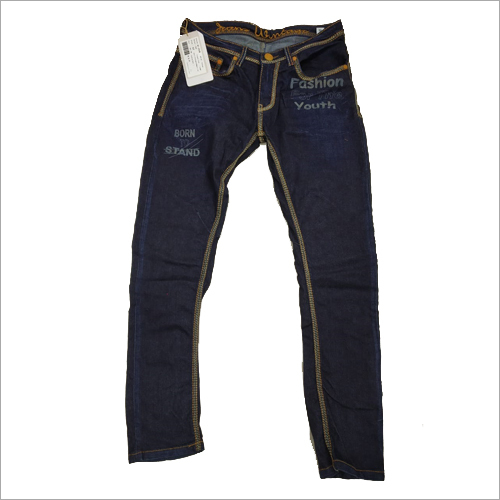 Mens Straight Fit Casual Jeans
