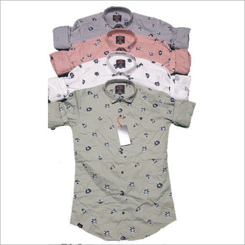 Mens Stylish Printed Shirt