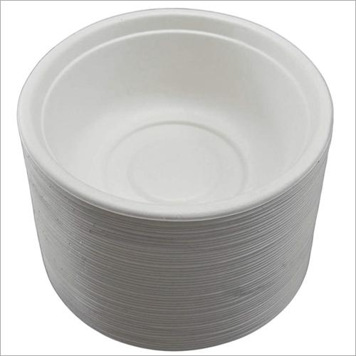 White Round Paper Bowl