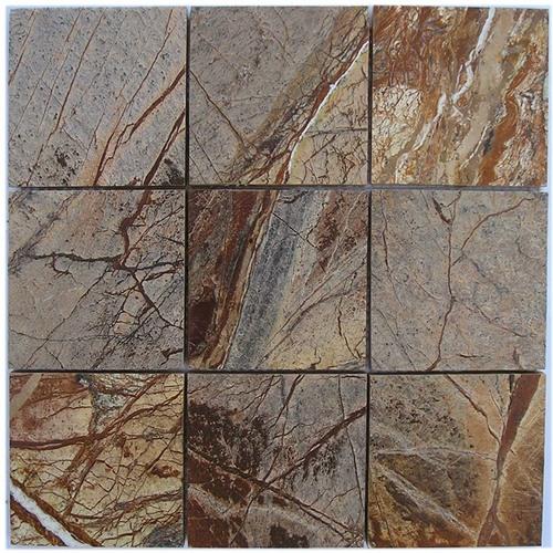 Mosaic F Brown Brush