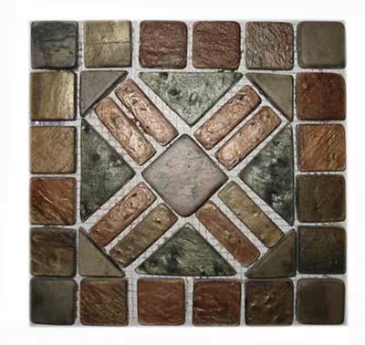 Mosaic Green Mica Stone
