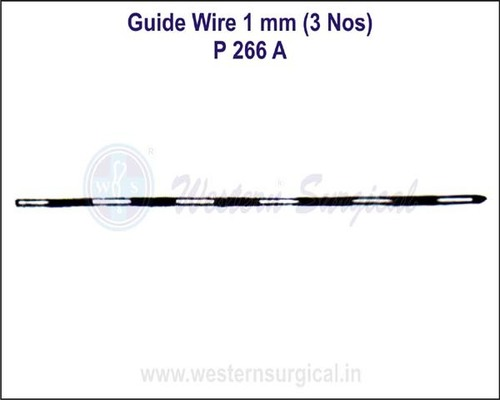 Guide Wire 1 mm (3 Nos)
