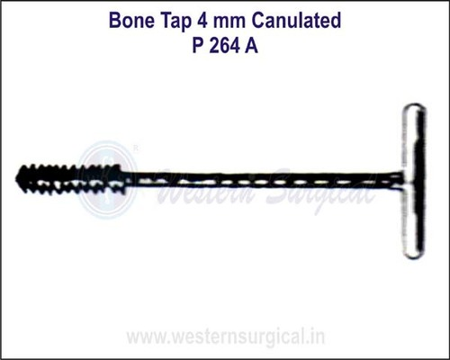 Bone Tap 4 mm Canulated