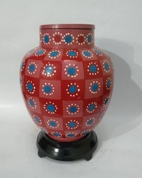 New Hand Painted Cloisonne Urn