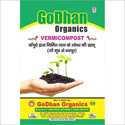Agricultural Vermicompost- Godhan Organics