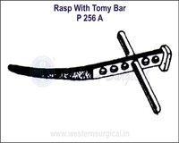 Rasp with Tomy Bar
