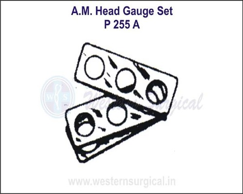 A.M. Head Gauge Set