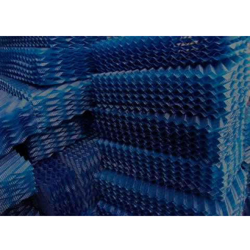 Blue Double Edge Fold PVC Fills