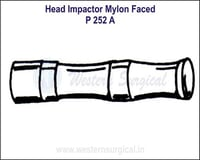 Head Impactor Nylon Faced