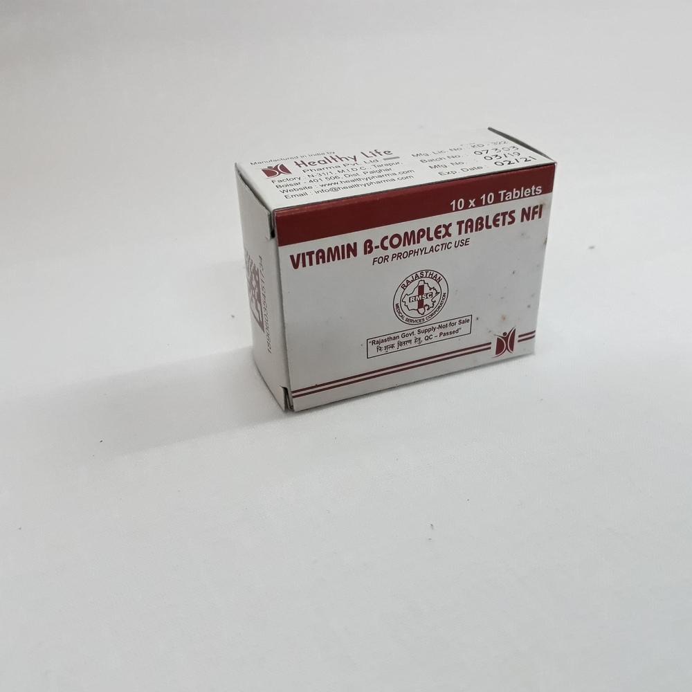 Vitamin B Complex Tablet Nfi