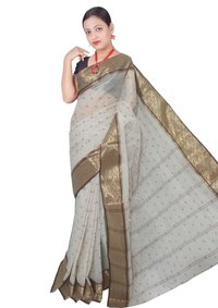 Bengal Cotton Tant Handloom Saree