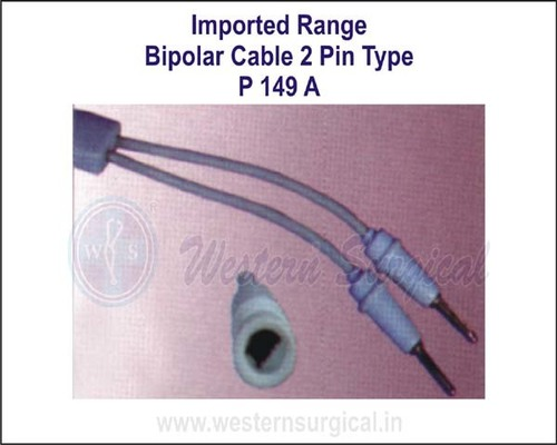 BIPOLAR CABLE 2 PIN TYPE