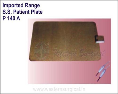 S.S.Patient Plate
