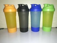 Protein Shaker Bottle with Container