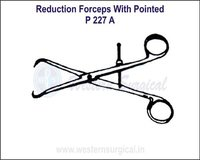 Reduction Forceps with Pointed