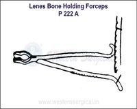 Lenes Bone Holding Forceps