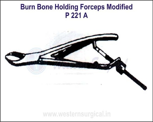 Burns Bone Holding Forceps Modified