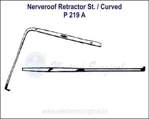 Nerveroof Retractor ST./Curved