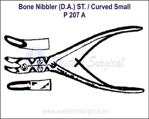 Bone Nibbler (D.A.) ST./Curved Small