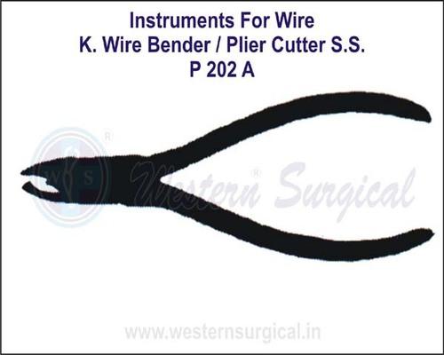 K. Wire Bender / Plier Cutter S.S.
