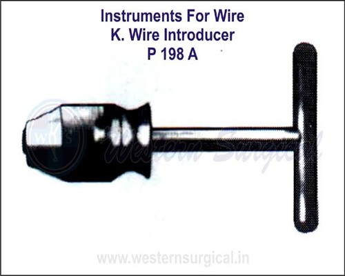 K. Wire Introducer