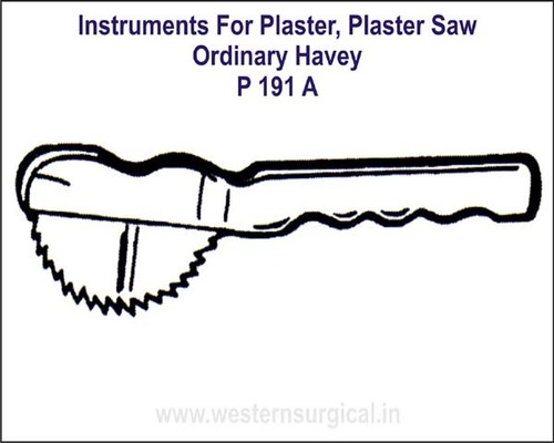 Plaster Saw - Ordinary Havey