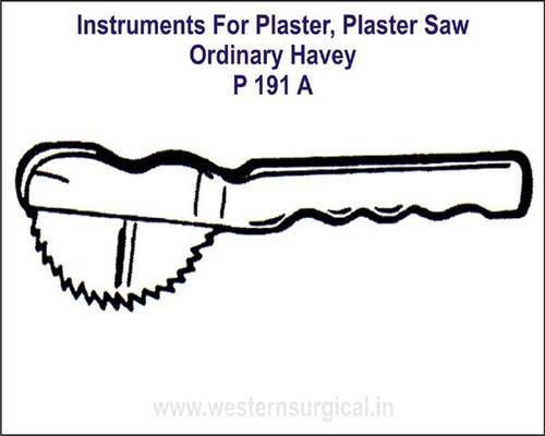 Plaster Saw - Ordinary Havey