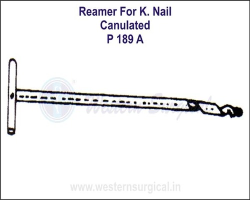 Reamer for K.Nail (Canulated)