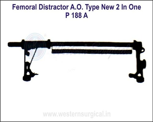 Femoral Distractor A.O. Type New 2 in One