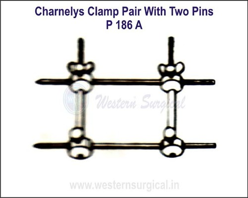 Charnelys Clamp Pair with Two Pins