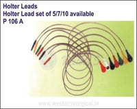 Holter Lead set of 5/7/10 available