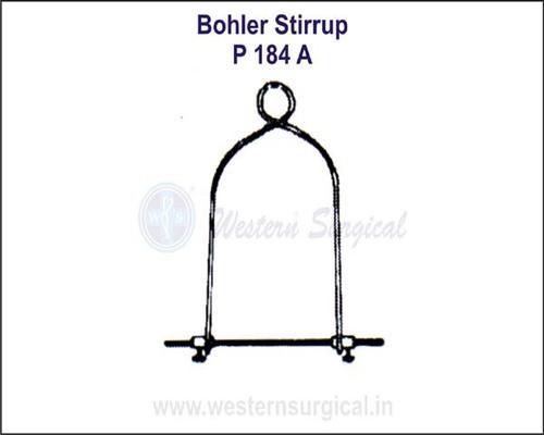Bohler Stirrup