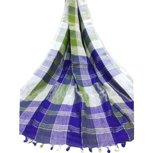 Ladies Handloom Printed Saree