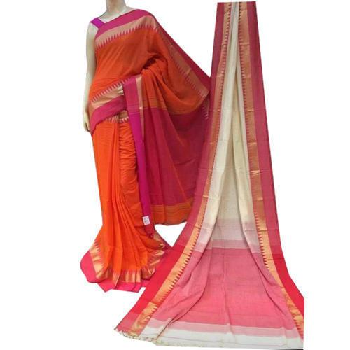 Ladies Fancy Khadi Saree