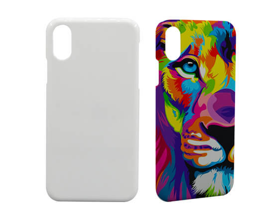 Sublimation 3D Phone case for IPhone X