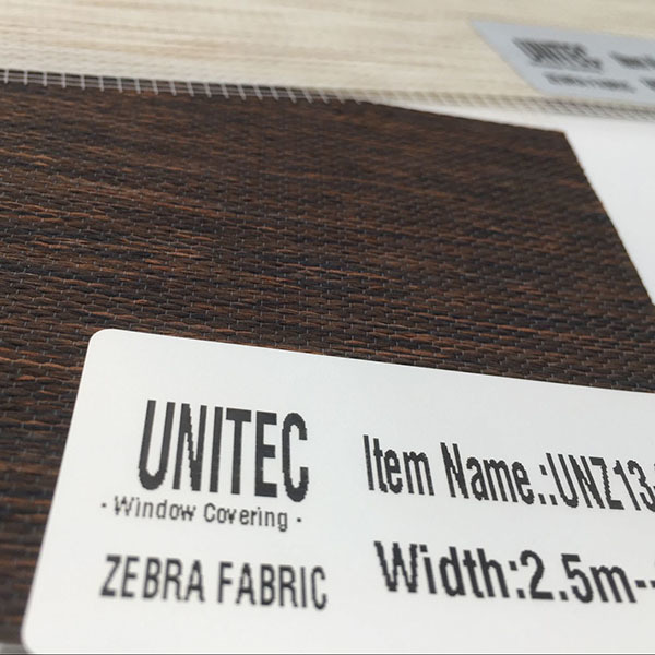 Zebra Blinds Fabric
