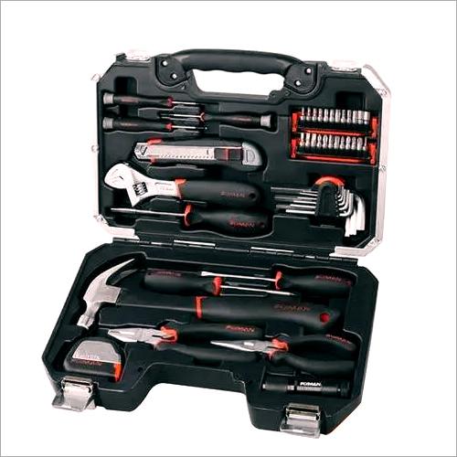 Orange And Black Fixman 46-Pcs Home Use Complete Tool Box Set