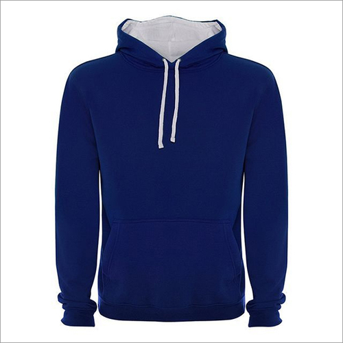280 Gsm Cotton (35%) Polyester (65%) Double Colored Hood Hoodies