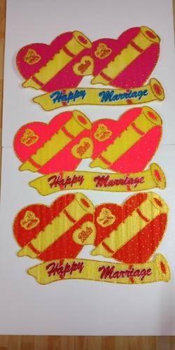 Foam Sheet Marriage Heart
