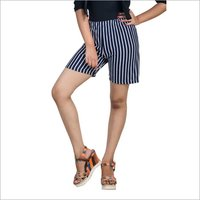 075SL STRIPE HOT PANT