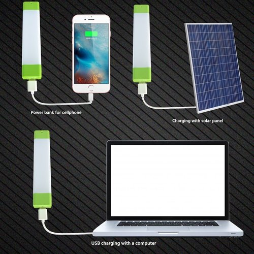 EMERGENCY LIGHT WITH POWER BANK