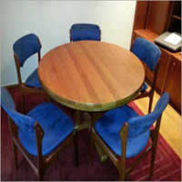 5 Seater Wooden Dining Table Furniture