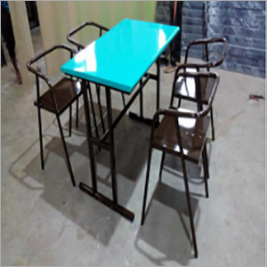 Comfortable Iron 4 Seater Dining Table