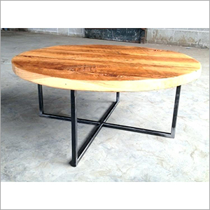 Sheesham Wood Round Coffee Table