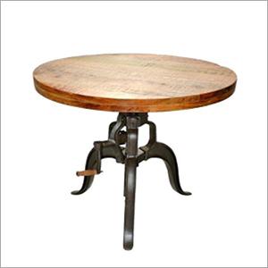 Modern Crank Coffee Table