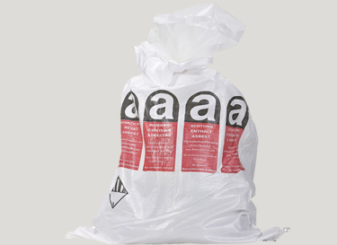 Asbestoes bag