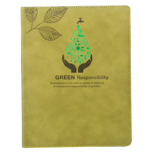 Green Responsibilities Diary Thermo